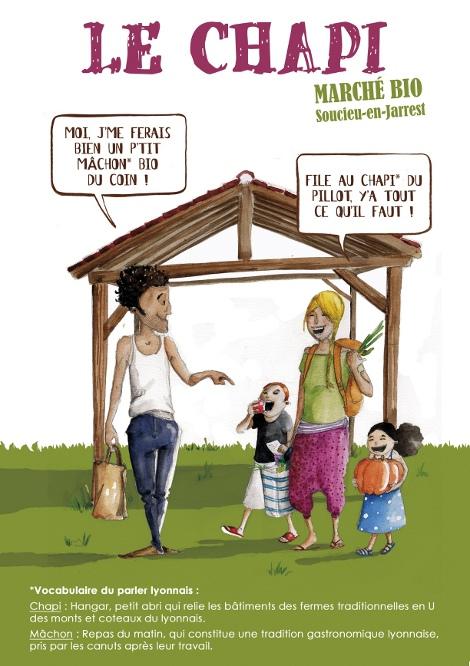 marché bio à Soucieu